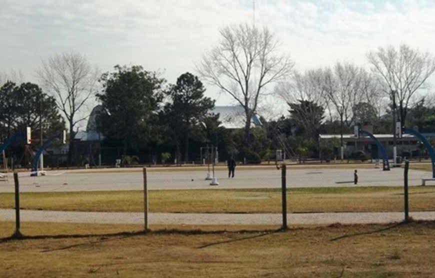 Inauguración de nueva Estación saludable en Plaza de Deportes
