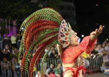 Desfile de carnaval en Maldonado