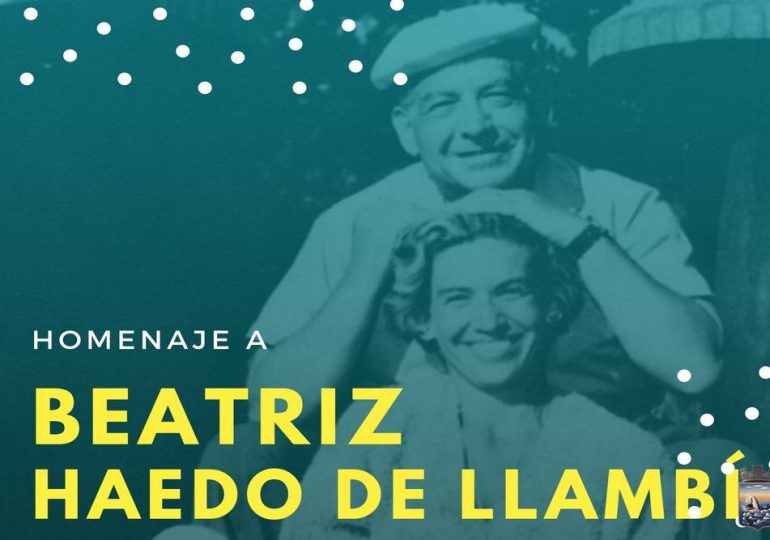 IDM rinde homenaje a Beatriz Haedo de Llambí