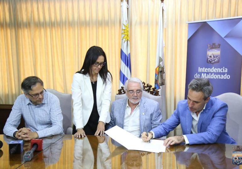 Bentancur sostuvo que donación de terreno a la UdelaR favorece a Maldonado como Ciudad Universitaria
