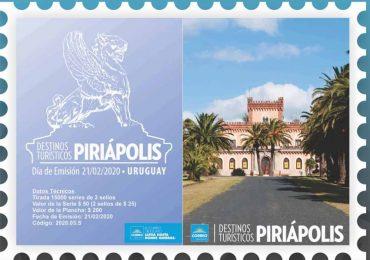 Correo Uruguayo presenta sello de Piriápolis