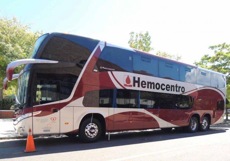 Jornada de donación con el Hemobus en Montevideo: Hemocentro colaborará con el Banco de Prótesis