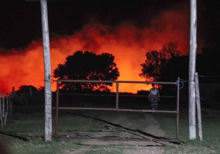 Incendio en zona de Gregorio Aznárez fue un atentado, dijo Ciganda