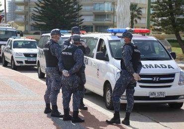 Intensos operativos en toda la costa de Maldonado